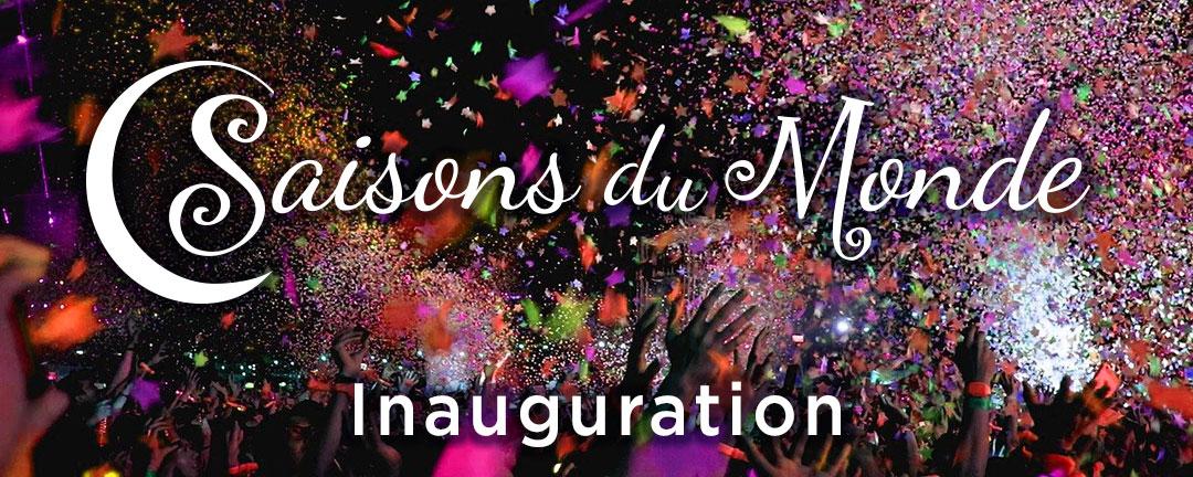 Inauguration du restaurant des saisons du Monde