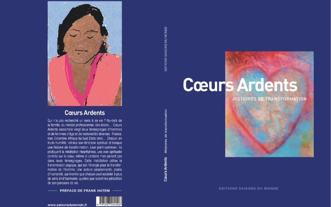 «Cœurs Ardents»: le livre est enfin disponible!